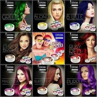 Chroma hair color
