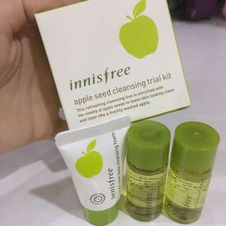 Innisfree Apple Seed Cleaning Trial Kit