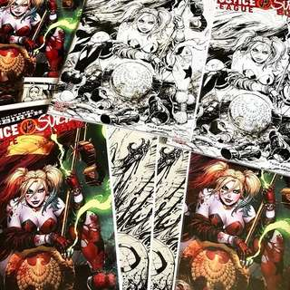 Lot of Tyler Kirkham Comic Variants including Venom, Justice League vs Suicide Squad