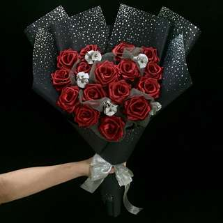 Mothers Day Limited Edition Galaxy Heart Rose Bouquet