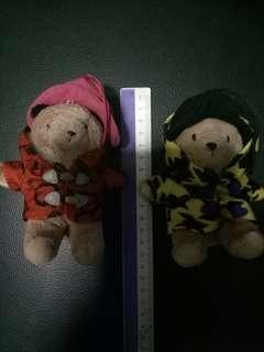 Paddington Bear 2pcs 7-Eleven
