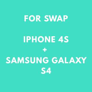 Iphone and Samsung