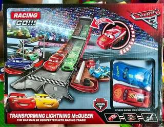 Mcqueen Car Transform Racing Set