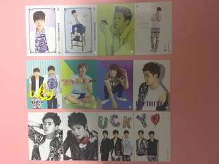 INFINITE OFFICIAL COLLECTION CARD VOL.1