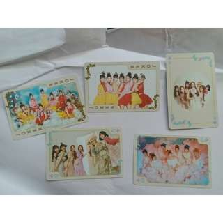 Oh my girl 官方 playing card set