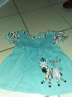 Baju bayi biru