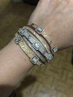 Cartier with Real Diamonds
