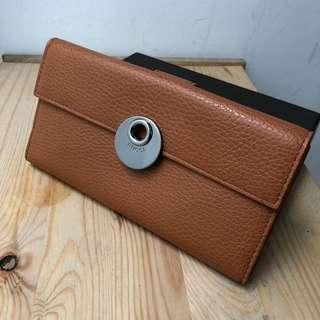 BNIB Gucci long wallet full leather complete set no rec