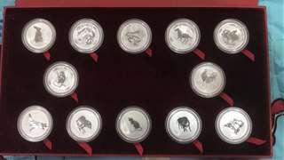 Australia lunar series 1 silver