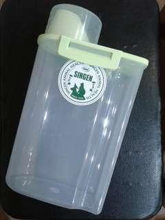 🚚 寵物 乾糧保鮮罐(亮綠色)