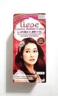 Liese Creamy Bubble Color Red Velvet/Purple Hair Dye