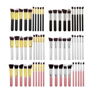 10 pieces brush ☺️