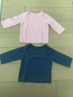 Mothercare Long Sleeve Top 0-3months