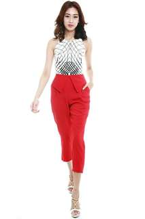 SALE MDS JACKSON PANTS IN RED