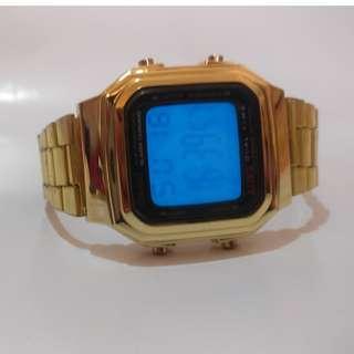 JAM TANGAN CASIO CLASSIC GOLD