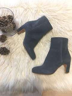 Maison Martin Margiela Paris Suede Ankle Boots