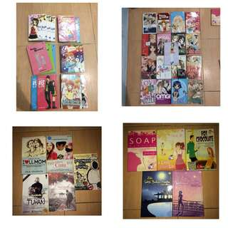 Komik Manga & Novel /piece
