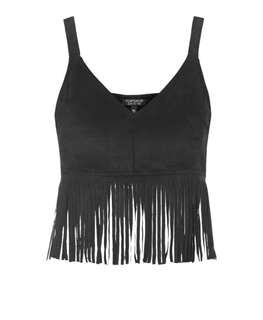 $5 Top Shop Fringe Crop Top