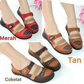 Sepatu Sandal Original Mulan Flat Bakpau