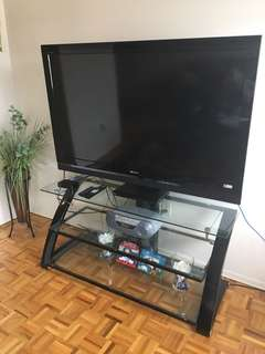 Brand new 55 Inch Sony Tv ,Tv stand and dvd all included