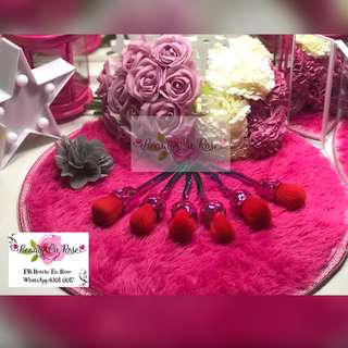 Rose Make Up Brush