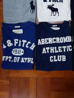 Abercrombie & Fitch T-shirt (a&f Hollister ralph Tommy