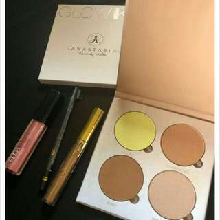 Anastasia Glow Kit SET MAKEUP RM 10