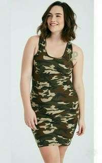 Plus Size Camouflage