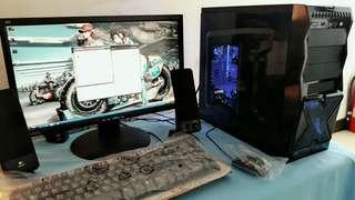1 SET DESKTOP PC