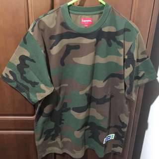 Supreme 2018 SS Week 11 Athletic Label S/S Top S Size