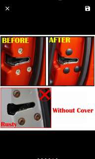 Car nuts buttons cover