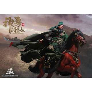 Inflames Toys - Soul of Tiger Generals - Guan Yunchang and Chitu Horse Set (1/6 Scale)