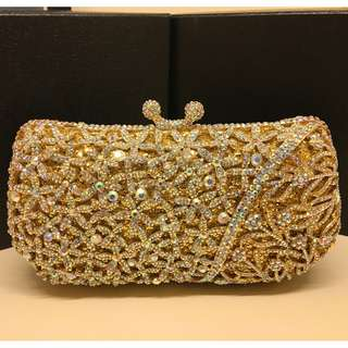 swarovski formal evening bag purse
