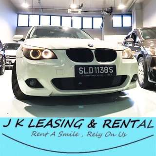 *FIRE SALES RENTAL* BMW 520i E60 SEDAN EXECUTIVE LUXURY SEDAN 523i 525i UBER GRAB RYDE CHEAP CHEAPEST RENT RENTAL PROMO