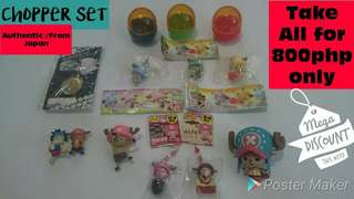One Piece - Chopper Set (Take All)