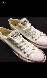 New white converse