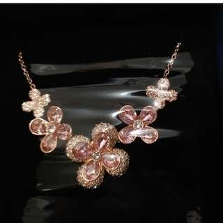Swarovski Elderflower Necklace #5234814  NEW IN BOX