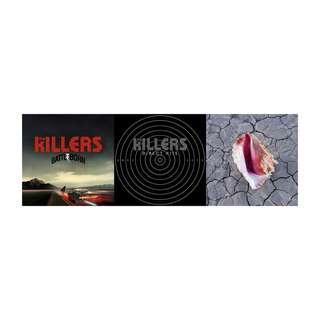 現貨 全新未拆 福袋 The Killers 殺手樂團 光榮戰役 精裝加值盤 十年輝煌經典+新歌 完美境界 CD 專輯組
