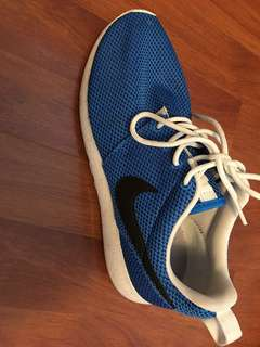 Nike blue Roshe shoes