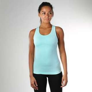 GYMSHARK Seamless Mint Vest Size M