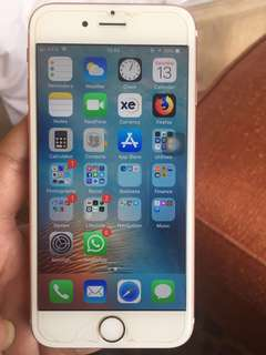Sale Iphone 6s 64GB Rosegold