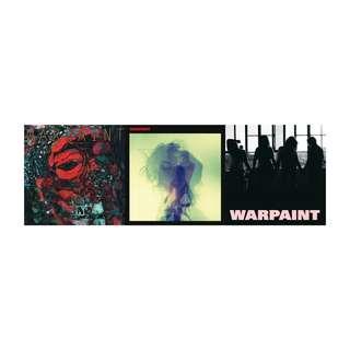 現貨 全新未拆 福袋 Warpaint 戰畫樂團 The Fool 傻瓜 同名專輯 Heads Up 仰望 CD 專輯組