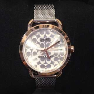 Authentic Coach Ladies Stainless Steel Watch