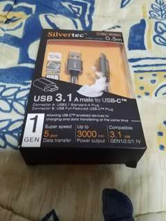 Good Price Deal of Silvertec USB C 3.1A