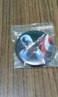 Captain America badge