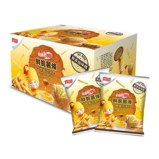 costco線上代購 #117903 卡迪那95℃鮮脆薯條蜂蜜芥末口味 (60公克X10包)X2入