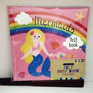 Felt Busy Book - Mermaids