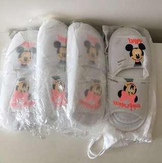米奇老鼠毛巾拖鞋2對#mayflashsales