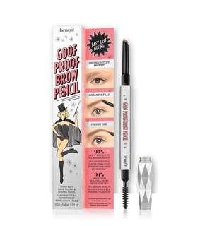 Benefit Goof Proof Eyebrow Pencil In 05 Deep