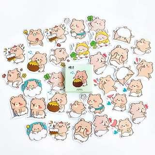 (PO) Chubby Baby Bear Sticker